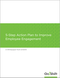 Get your five-step action to improve employee engagement in senior living