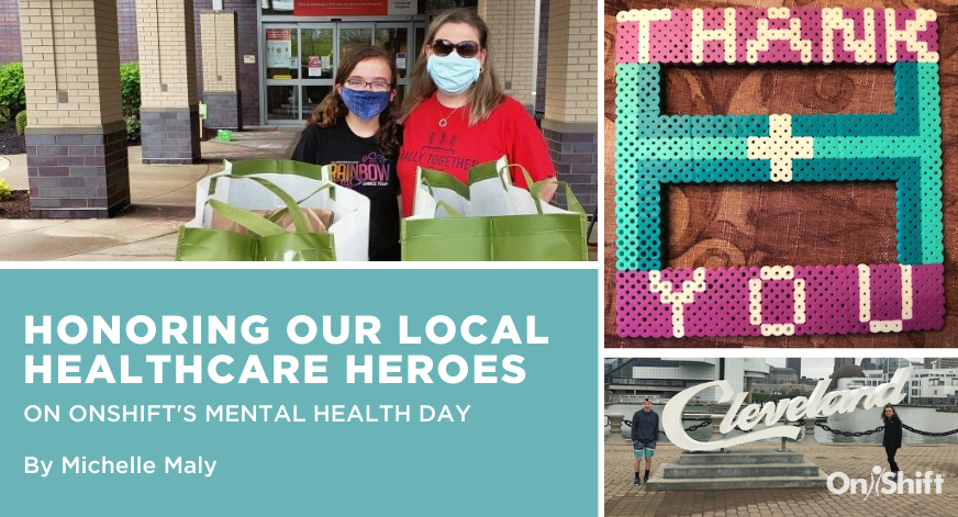 Honoring Local Healthcare Heroes During OnShifts Mental Health Day
